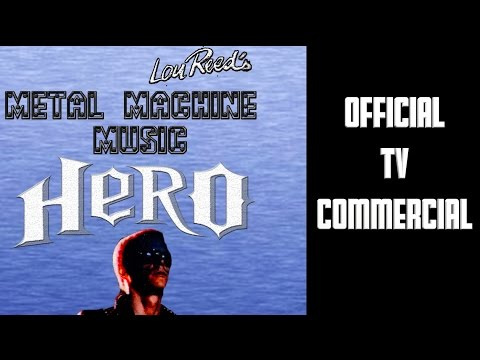 Lou Reed's Metal Machine Music Hero (Video Game Commercial)