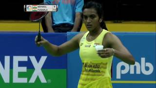 Yonex Sunrise India Open 2017 | Badminton QF M5-WS | Saina Nehwal vs Pusarla V. Sindhu