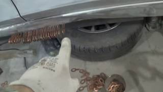 Кузовной ремонт. правка порога. body repair.(https://vk.com/andreyshadrinsk., 2017-02-11T06:32:55.000Z)