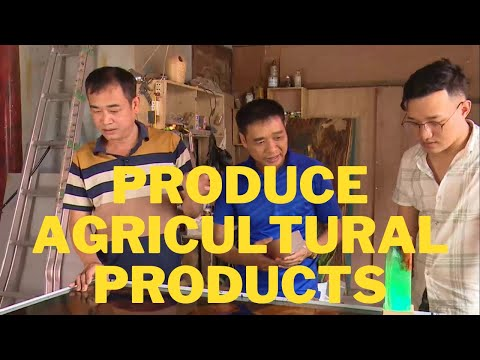 Build and consolidate agricultural product production, expand market trade, build community tourism