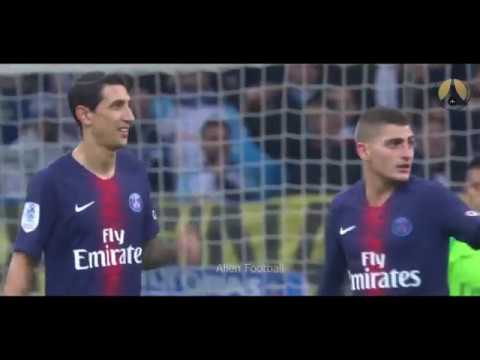 Marco Verratti VS Olympique de Marseille (OM) 28/10/2018