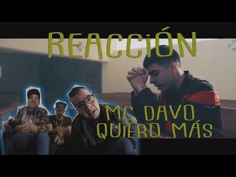 Gordos Reaccionan A MC Davo - Siempre Quiero Más, Ft Lil Pacs