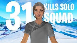 31 Kills Solo Squad  Console - Fortnite