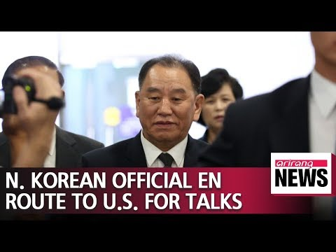 N. Koreas top nuclear negotiator en route to Washington for talks with Pompeo