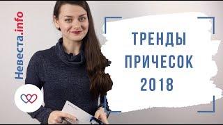 Тренды  причесок 2018