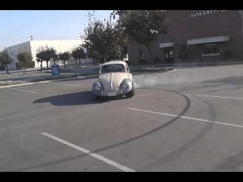 VW 1969 Bug Burnout