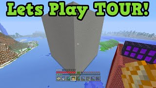 Minecraft Xbox 360 Lets Play #250 - World Tour / Download Map
