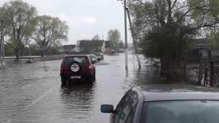 Переправа через потоп (Гомель-Уза)Опель Фронтера