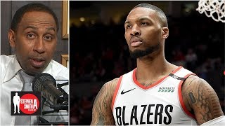 Damian Lillard deserves first-team All-NBA honors over Steph Curry | The Stephen A. Smith Show