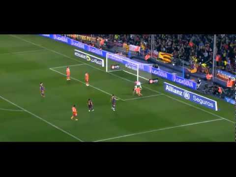 (19-3-2011) FC Barcelona-Getafe CF 2-1 | Full Highlights