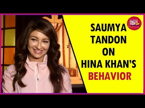 Saumya Tandon On Hina Khan's Behavior, Reveals If She Wants To Be A Part Of Bigg Boss 11