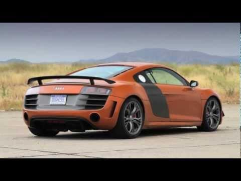 2012 Audi R8 GT - First Test
