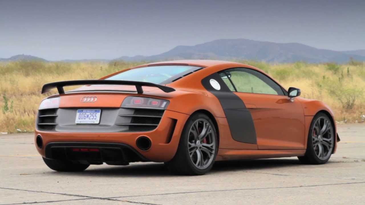 2012 Audi R8 Gt First Test Youtube