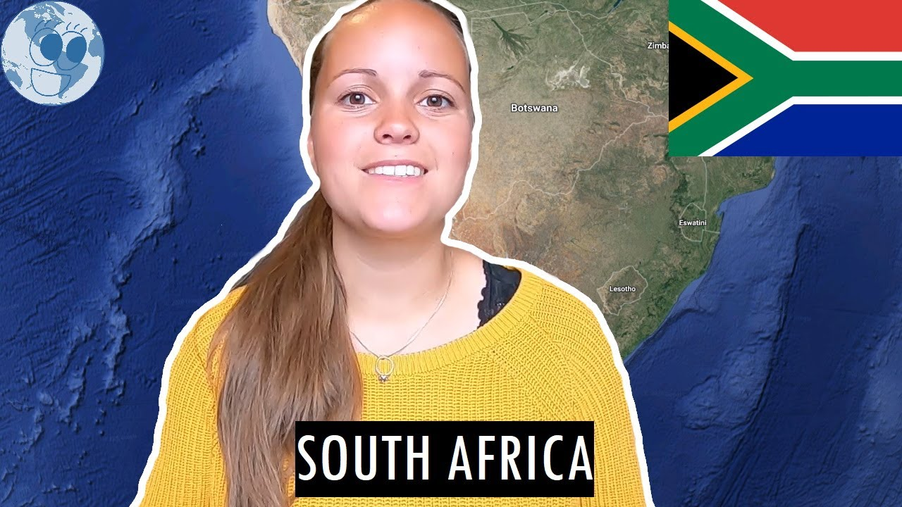 Zooming in on SOUTH AFRICA | Geography of South Africa with Google Earth