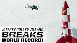 Joffrey Pollet-Villard Breaks World Record
