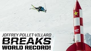 Joffrey Pollet-Villard Breaks World Record