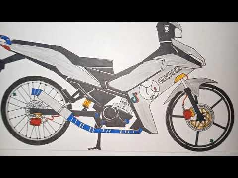 Vẽ xe Exciter 155 VVA (Quốc Khánh)🇻🇳🎨