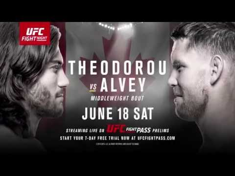 Fight Night Ottawa: Theodorou vs Alvey