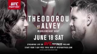 Fight Night Ottawa: Theodorou vs Alvey