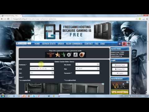 Бесплатный Хостинг Серверов - Counter-Strike Source