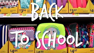 shopping back to school