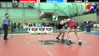 Lawrence Thomas vs. Kurtis Julson at 2013 ASICS University Nationals - FS