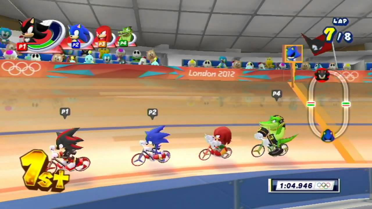 Mario and Sonic at the London 2012 Olympic Games: Part 13 – Cycling