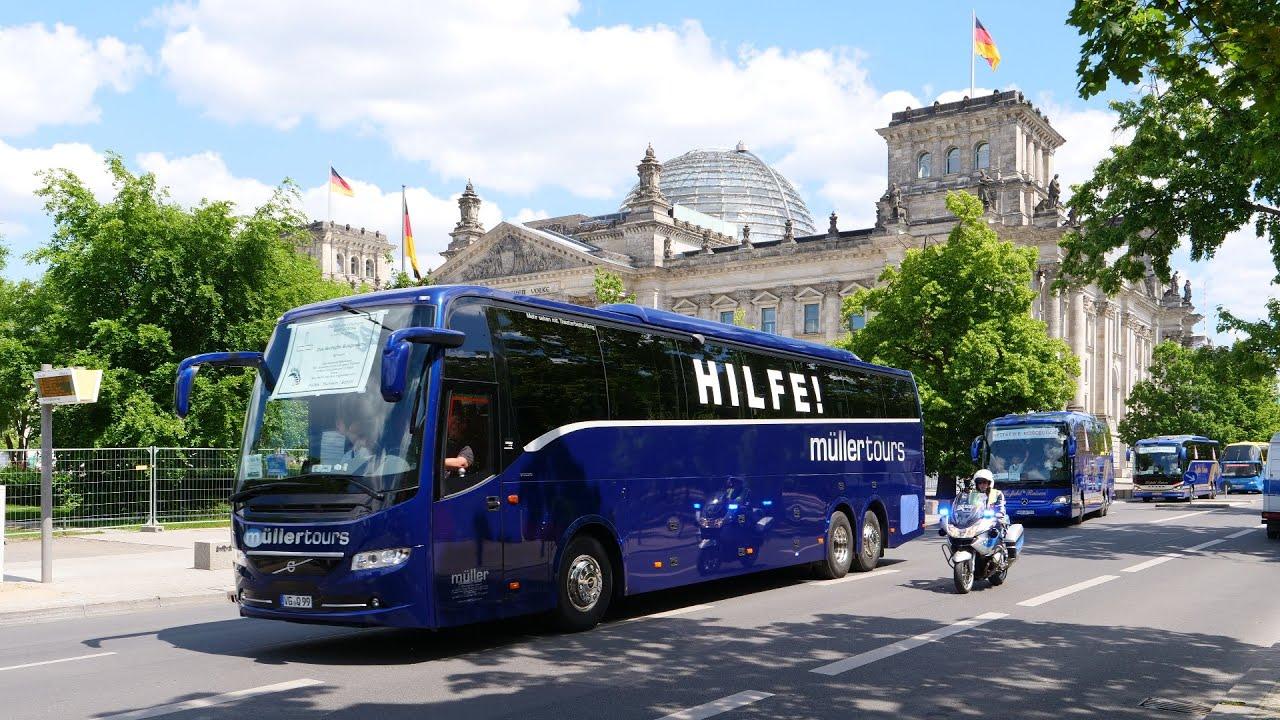 Rettet die Busunternehmen - Bringt diese Busdemo die Wende?