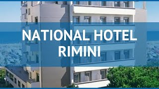 NATIONAL HOTEL RIMINI 4* Италия Римини обзор – отель НАЦИОНАЛЬ ХОТЕЛ РИМИНИ 4* Римини видео обзор