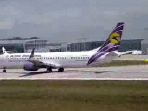 Take Off Boeing-737-900 UIA UR-PSK From Lviv UKLL-LWO.