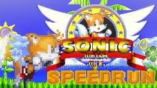 [TAS] Sonic Megamix v4.0b - Speedrun as Tails