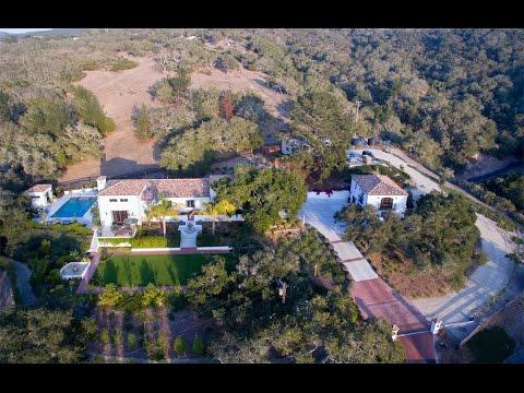 Private Spanish Colonial Estate in San Luis Obispo, California