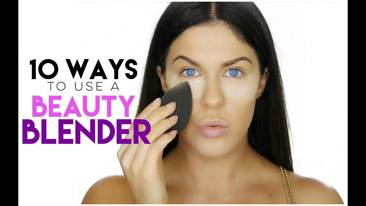 10 ways to use a beauty blender beauty blender hacks youtube. Black Bedroom Furniture Sets. Home Design Ideas