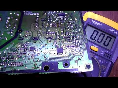 Ремонт блока питания Samsung UE32EH5007