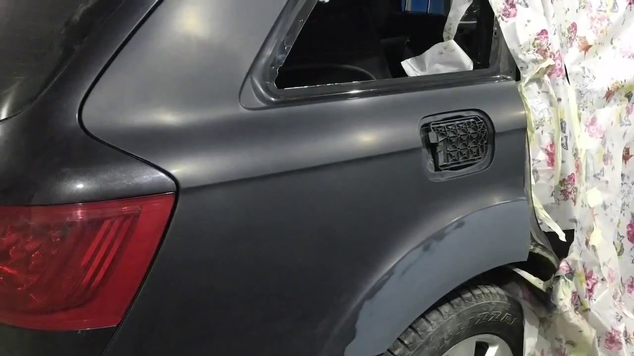Ремонт двери Audi Q7