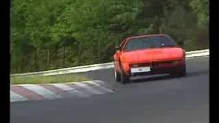 BMW M1 - Nürburgring race track (historical movie)