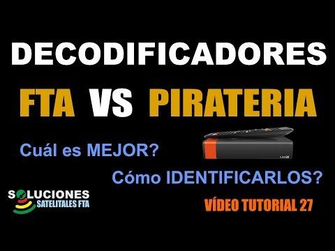 Decodificadores FTA Vs Pirateria - Cual Es Mejor Y Como Identificarlos