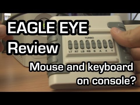 Eagle Eye review - Mouse and keyboard on console? (Zoomingames)