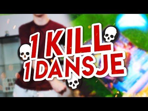 1 KILL = 1 FORTNITE DANSJE IN REAL LIFE!