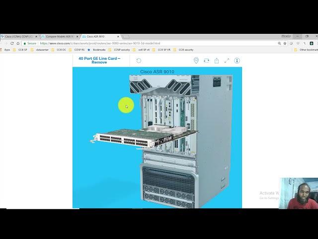 004 Cisco ASR 9000 routers