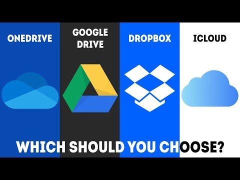 OneDrive vs Google Drive vs Dropbox vs iCloud - Which Should You Choose?