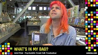 Ariel Pink - Whats In My Bag? YouTube Videos