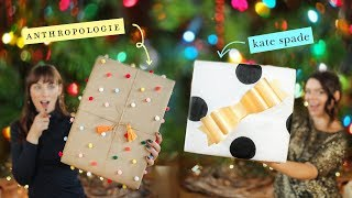 GIFT WRAPPING INSPIRED BY YOUR FAVOURITE STORES?!