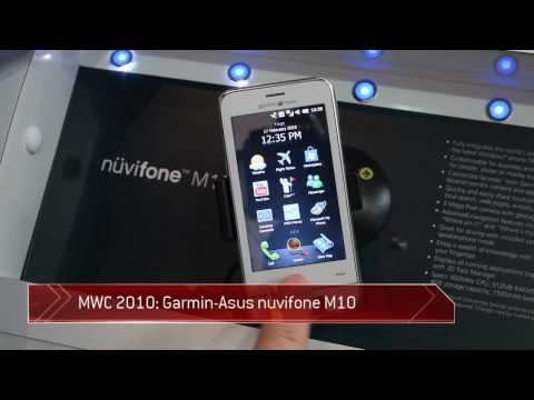 Garmin ASUS Nuvifone M10 hands-on