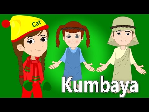 Kumbaya My Lord | Christmas Songs For Children | British Kids Songs Xmas Series