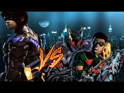 Dick Grayson (Robin 1) vs the other Robins
