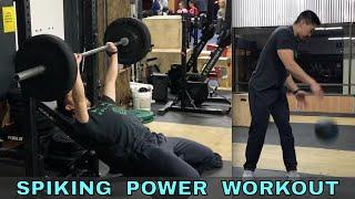 Spiking Power Workout (11/30/18)