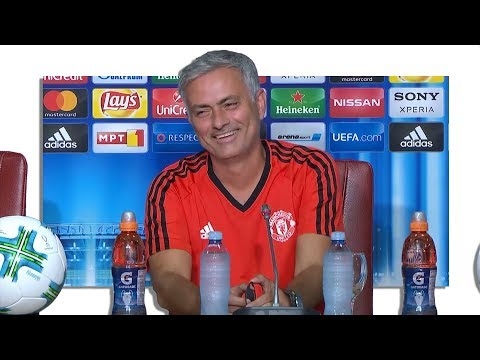 Jose Mourinho Pre-Match Press Conference - Real Madrid v Manchester United - UEFA Super Cup
