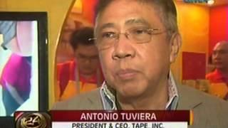 24 Oras: Tony Tuviera ng Tape Inc., pinarangalan para sa franchise ng Eat Bulaga sa ibang bansa