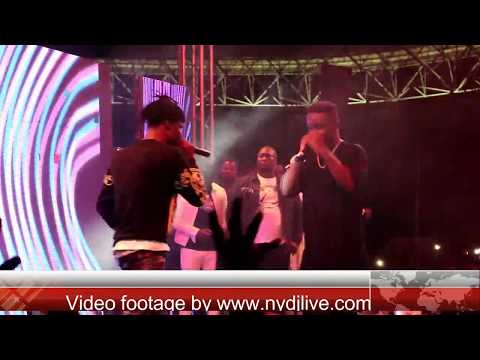 Fancy Gadam And Sarkodie Perform Total Cheat To Over 15,000 Fans In Tamale |NYDJLive